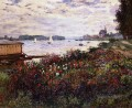 Riverbank at Argenteuil Claude Monet